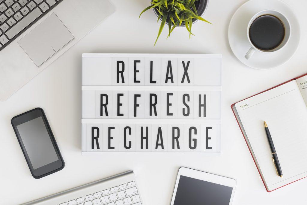 de-stress in retirement